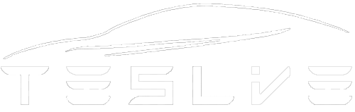 TesLive Logo-Car White